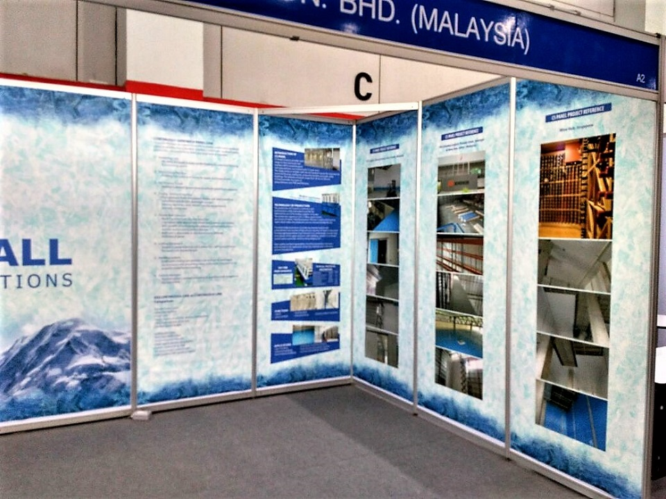 Exhibition Booth Proposal : Ascrolite exhibition booth