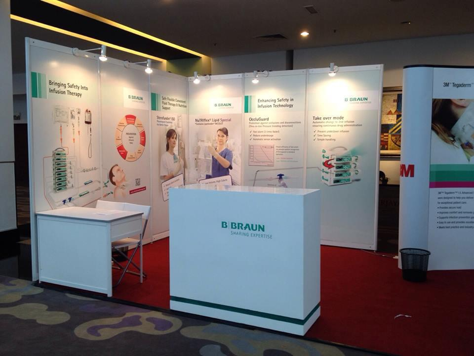 Exhibition Stand Poster Design : Ascrolite exhibition booth